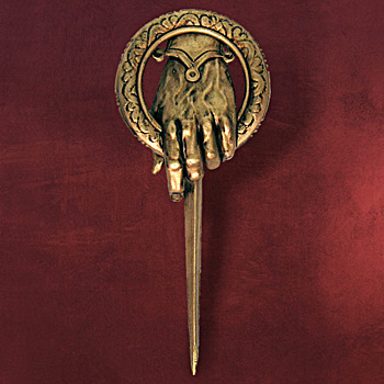 Game of Thrones - Hand des K�nigs Pin