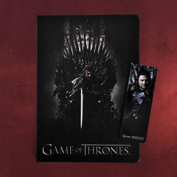 Game of Thrones - Notizbuch und Magnet Lesezeichen