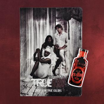 True Blood - Notizbuch und Magnet Lesezeichen