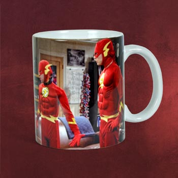 The Big Bang Theory - Flash Characters Tasse