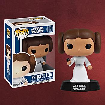 Star Wars - Prinzessin Leia Wackelkopf Figur