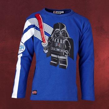 LEGO Star Wars - Darth Vader Rules Longsleeve für Kinder blau