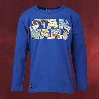 LEGO Star Wars - Longsleeve für Kinder blau