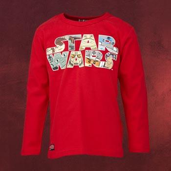LEGO Star Wars - Longsleeve für Kinder rot