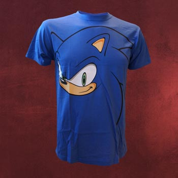 Sonic the Hedgehog - Big Face T-Shirt