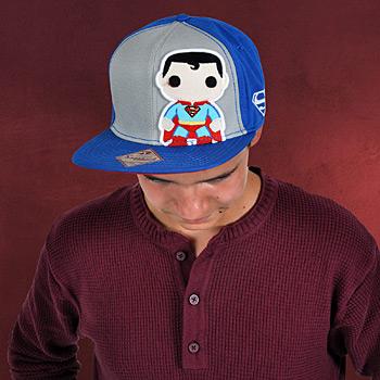 Superman Snapback Cap