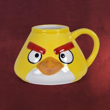 Angry Birds - Yellow Bird 3D Tasse