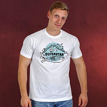 Ich bin der Weltraumpräsident - T-Shirt