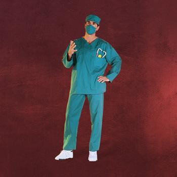Doktor - Kostüm Herren
