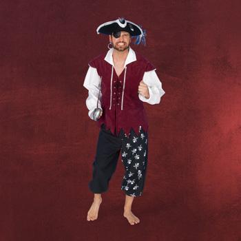 Pirat - Kostüm Herren