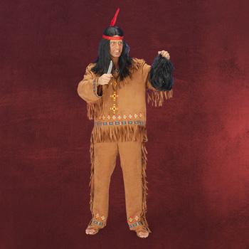 Indianer - Kostüm Herren