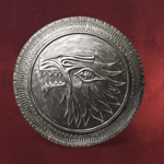 Game of Thrones - House Stark Infanterie Schild Replik
