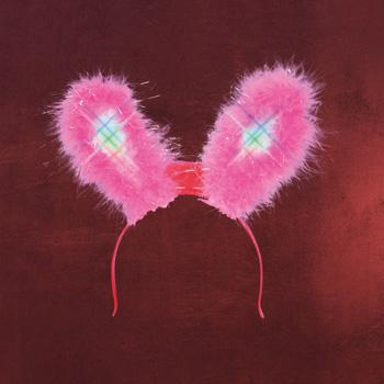 Bunny Ohren mit Flashlight