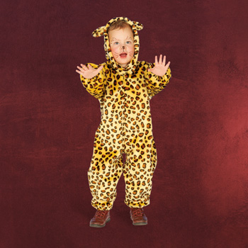 Leopard Kinderkost�m Overall