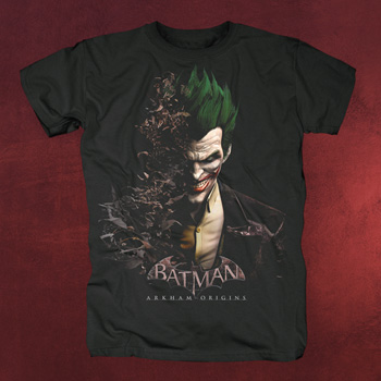Batman Arkham Origins - Joker T-Shirt