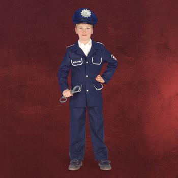 Polizist - Kinderkostüm