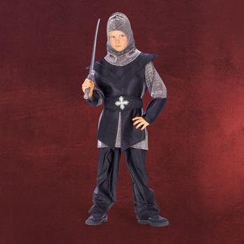 Schwarzer Ritter - Kinderkostüm
