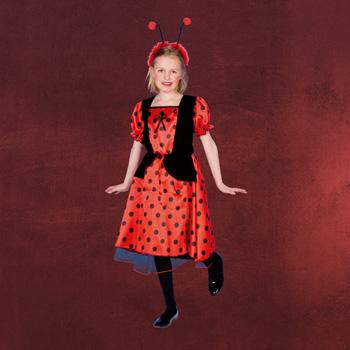 Marienk�fer Kleid - gepunktetes Kinderkost�m