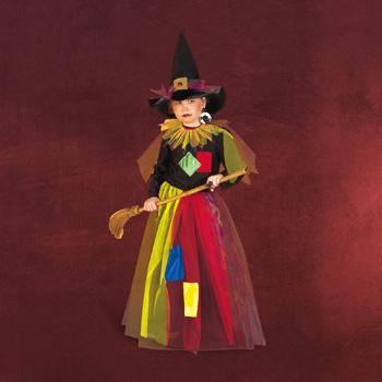 Hexe mit Hut - Kinderkostüm