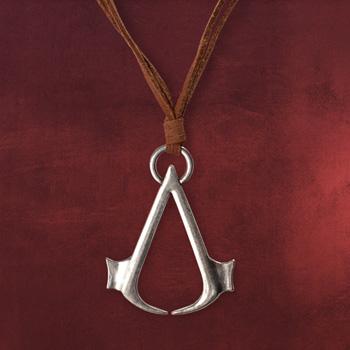 Assassins Creed - Logo Anh�nger mit Lederband