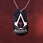 Assassins Creed IV - Black Flag Dog Tag Kette
