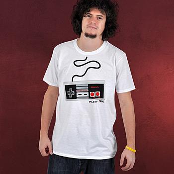 Nintendo - NES Controller T-Shirt wei�