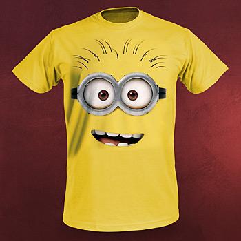 Einfach Unverbesserlich 2 - Goggle Face T-Shirt gelb