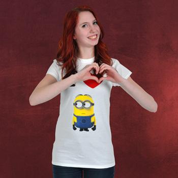 Einfach unverbesserlich 2 - I love Minions Girlie Shirt