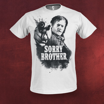 Walking Dead - Sorry Brother T-Shirt wei�