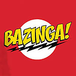Big Bang Theory - BAZINGA! T-Shirt rot