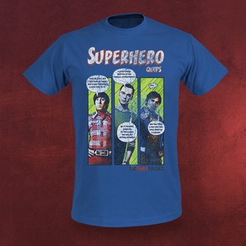 Big Bang Theory - Superhero T-Shirt