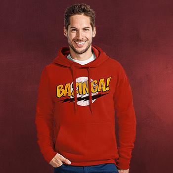 Big Bang Theory - BAZINGA! Hoodie rot