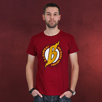 Big Bang Theory - Flash T-Shirt rot