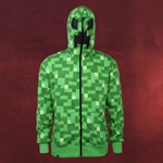 Minecraft - Creeper Kappu-Jacke
