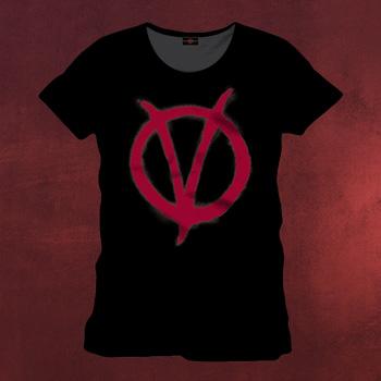 V wie Vendetta - Symbol T-Shirt