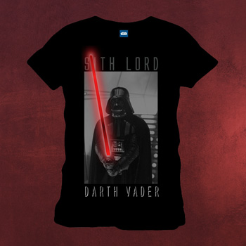 Star Wars - Sith Lord Darth Vader T-Shirt