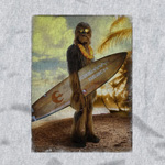 Star Wars - Wookiee Surfer T-Shirt grau