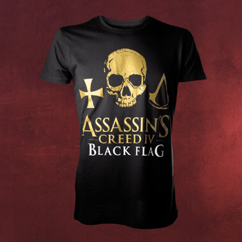 Assassin´s Creed IV Black Flag - Skull T-Shirt
