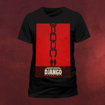 Django Unchained - Poster T-Shirt
