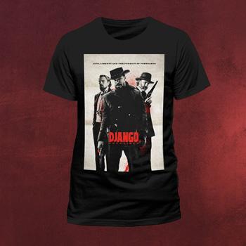 Django Unchained - Life Liberty Poster T-Shirt