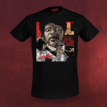 Pulp Fiction T-Shirt - Collage Jules - Tarantino XX