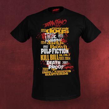 Tarantino XX T-Shirt - Filmography