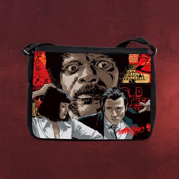 Pulp Fiction - Collage Jules - Tarantino XX Tasche