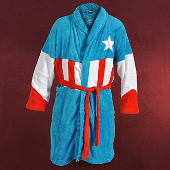 Captain America Bademantel