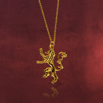 Game of Thrones - Lannister Wappen Kette