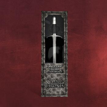 Game of Thrones - Schwert Longclaw Brieföffner