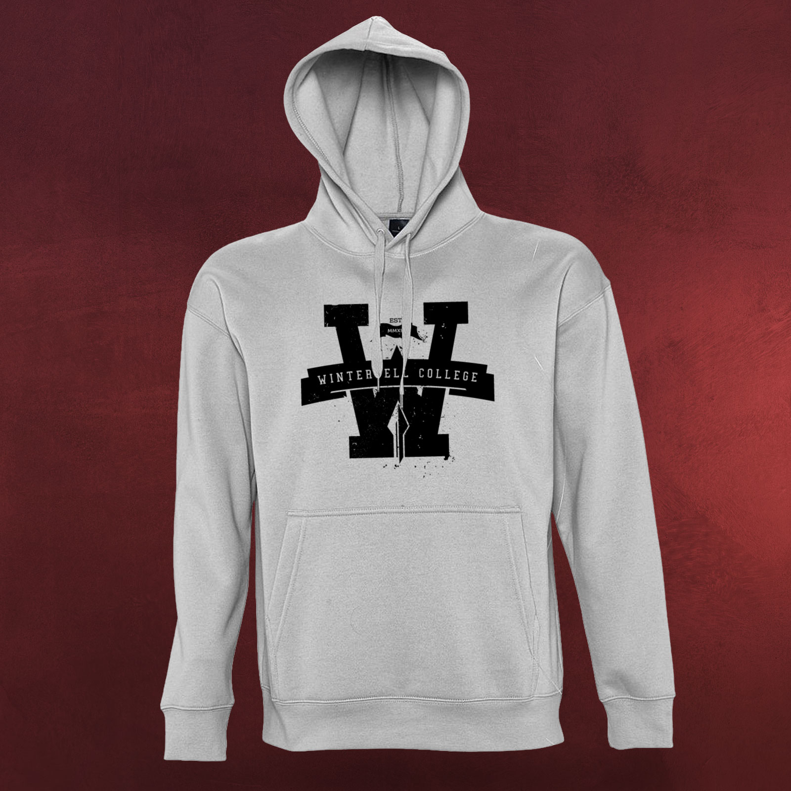 winterfell college hoodie game of thrones kapuzen pullover. Black Bedroom Furniture Sets. Home Design Ideas