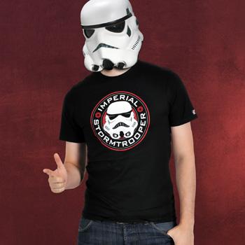 Star Wars - Imperialer Stormtrooper T-Shirt schwarz