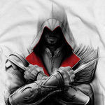 Assassins  Creed II - Ezio T-Shirt wei�