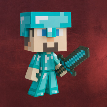 Minecraft - Steve Figur Diamond Edition